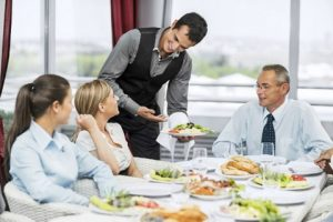 Trình tự phục vụ bàn trong nhà hàng - Phần 2