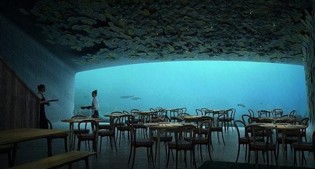 Nhà Hàng Dưới Đáy Biển Đầu Tiên Của Châu Âu