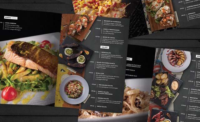 gia tri menu nha hang