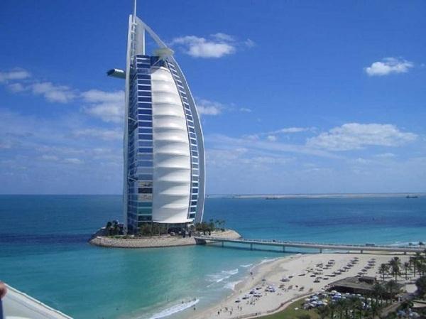 khách sạn burj al arab sang nhất thế giới