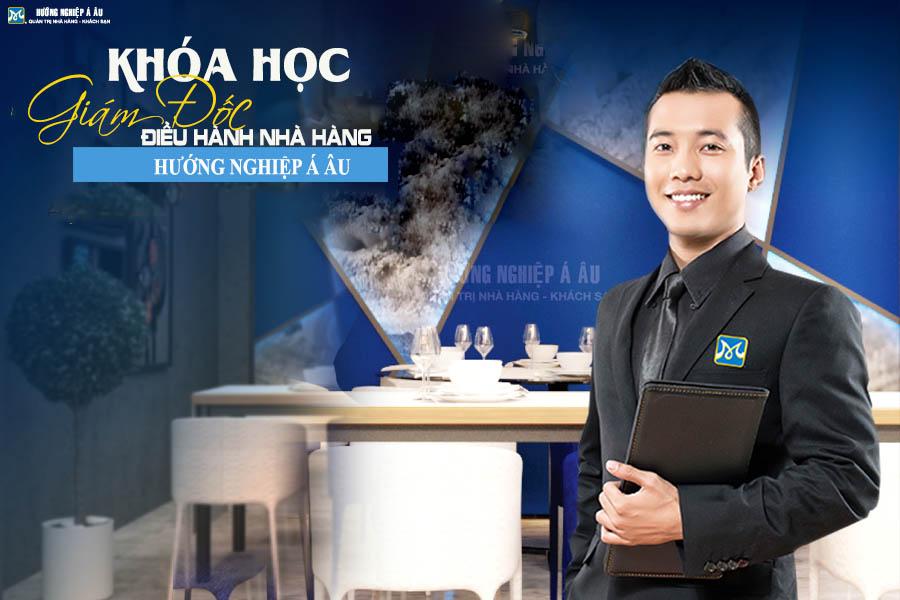 khóa học giám đốc điều hành nhà hàng