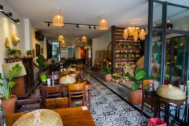 Nhà hàng theo phong cách thuần Việt