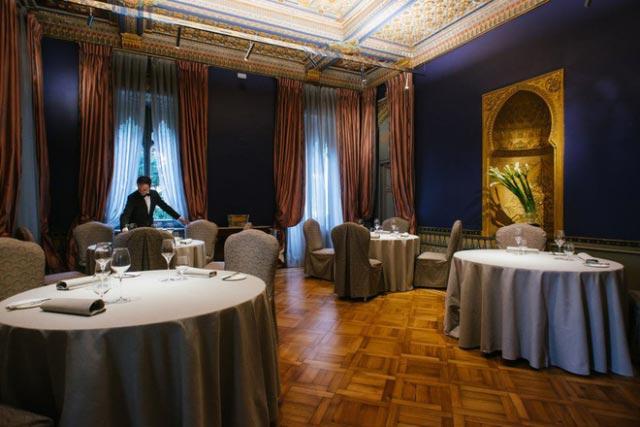 ristorante villa crespi