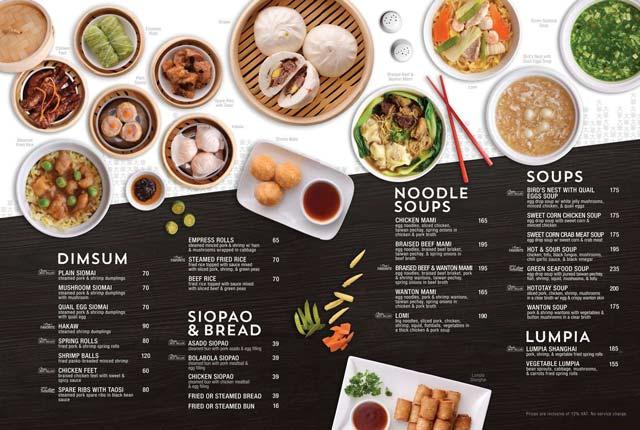 vi tri mon an trong menu