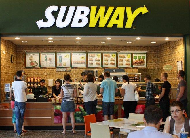 cửa hàng subway